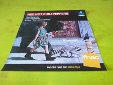 RED HOT CHILI PEPPERS - GETAWAY !PLV 30X30 CM !!FRENCH RECORD STORE PROMO ADVERT