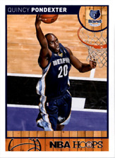 2013-14 Hoops Basketball Card #27 Quincy Pondexter