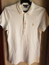 RALPH LAUREN WOMEN'S LIMITED GOLD EDITION POLO SHIRT-Size Large
