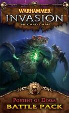 Warhammer Invasion The Card GamePortents Of Doom Battle Pack OOP LCG