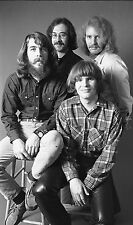 """CREEDANCE CLEARWATER REVIVAL,11"""" x 16"""" Photograph by Baron Wolman, SIGNED"""
