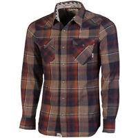 men's Vans Edgeware Long Sleeve Shirt  up to 75% off