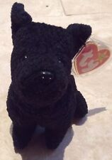Ty Beanie Babies Scottie The Dog - Retired Mint With Tag Protector