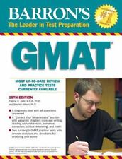 Barron's GMAT by Stephen Hilbert and Eugene D. Jaffe (2009, Paperback, Revised)