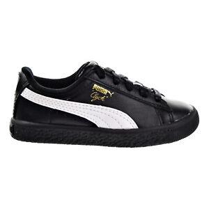 Puma Clyde Core L Foil Toddler Shoes Puma Black-Puma White 364663-02