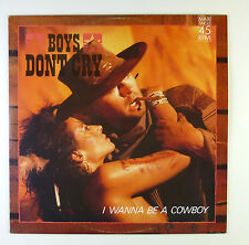 "12"" Maxi - Boys Don't Cry - I Wanna Be A Cowboy - B4778 - washed & cleaned"