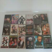 90s Rap Hip Hop R & B Cassette Tape Lot (18) Bobby Brown Blige TLC bodyguard MIB