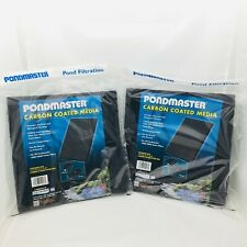 "Pondmaster Carbon Coated Media 11.5"" Long x 11.5"" Wide (2 lot) 12203"