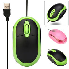 Mini Design 1200 DPI Câblée USB Optique Souris De Jeu pour PC portable Maison/