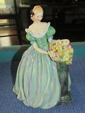 Vintage Royal Doulton English Porcelain Figurine Roseanna Hn 1921 Super Rare