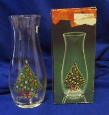 Vintage 1987 Pasabahce Christmas Tree Vase 7�~ New~ Made in Turkey