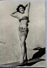 PIN UP Girl Sexy Bikini Beach PC Circa 1960s Real Photo Ragazza in Bikini 26