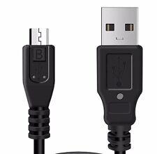 Negro Sincronización De Datos Cable para el HTC Nexus 6p teléfono móvil cargar