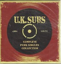 UK SUBS - COMP PUNK SINGLES COLLECTION - DBL CD BOX SET (sealed) - AHOY DCD 312