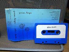 JUNIOR LEAGUE Slow Death demo cassette tape Austin Texas indie-rock