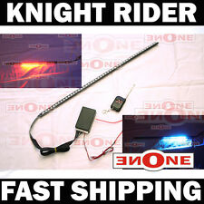 "Mk1 24"" 7 Color LED Knight Rider Strip Light Kit Under Hood Grill"