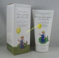 ERBOLARIO Il Latte Detergente dei Piccoli 150ml bambino pulizia camomilla malva