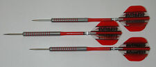 POWERGLIDE 80% Tungsten 26 Grams Fixed Point Steel Darts - Ringed Grip - #3