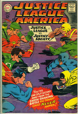 JUSTICE LEAGUE of AMERICA #56 © 1967 DC Comics f/vf