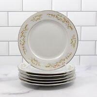 International Silver Co 326 Springtime Japan Set of 6 Bread Butter Salad Plate