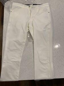 nike white golf pants 32x30