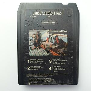 Crosby Stills & Nash CSN (8-Track Tape)