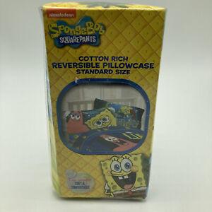 SpongeBob Hyper Bob Pillow Case Cotton Reversible