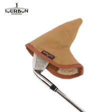 TOURBON Canvas Golf Club Headcover Protector for Iron Sets with Fleece Padded