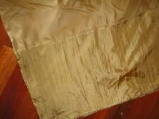 """General Trade Vintage Gold Crinkled (1) King Bedskirt Split 13"""""""
