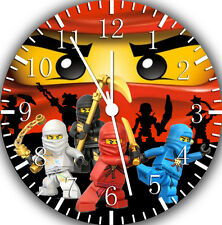 "Lego Ninja Ninjago wall Clock 10"" will be nice Gift and Room wall Decor W459"
