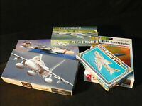Mixed era Jet Aircraft Kits Scale 1:72 ~ Set 20.3 ~ Mixed Manufacturers ~ Rare