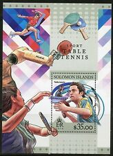 SOLOMON ISLANDS 2016 SPORT TABLE TENNIS  SOUVENIR SHEET  MINT NH