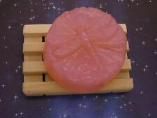 Black Amber & Lavender Glycerin Soap-Handmade-Dragonfly Bar-Biodegradable Wrap