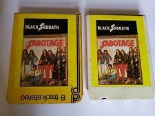 More details for 8track black sabbath - sabotage - not tested