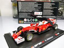 BBurago 1:32 F1 Ferrari Team SF16 H No.7 Kimi Racing Model 2016
