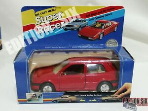 Welly 1/32 VOLKSWAGEN VW GOLF MK3 red replica car model diecast NEW pull back