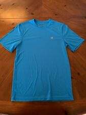 Champion Athletic Blue Shirt Dri Fit Like Material t Shirt Size Small