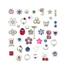 Lot 20 925 Sterling Silver Nose Ring Bone Stud Mixed Designs 22 Gauge 22G
