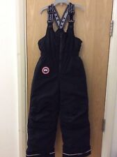CANADA GOOSE Kids/Youths Wolverine Ski Pants Black Size S / P (6-7years)
