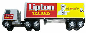 VTG Advert Nylint Steel 21 Inch 18 Wheeler Tractor Trailer Lipton Tea Bags Semi