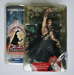 Ozzy Osbourne 2003 Figure Unopened w/accessories MC Farland Toys