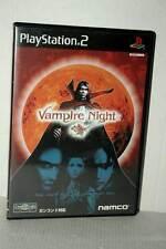 VAMPIRE NIGHT GIOCO USATO OTTIMO SONY PS2 EDIZIONE GIAPPONESE NTSC/J VBC 52393