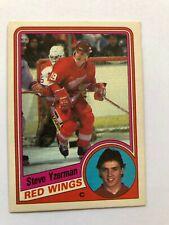 1984 - 85 OPC Complete Hockey Card Set - Yzerman Rookie