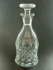 """Brillante, qualità WMF firmato cristallo """"Cristal Cabinet"""" Decanter & TAPPO .26cm."""