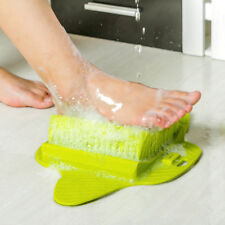 Shower Foot Scrubber Brush Foot Massager Spa Tool Feet Callus Remover