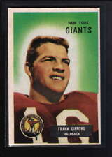 1955 BOWMAN #7 FRANK GIFFORD EX F4863