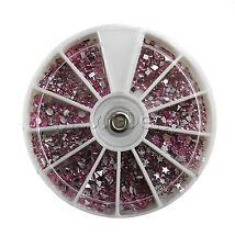 Rondell Strasssteine Rosa Mix Nail Nailart Nagelstudio ca.1200 Stück 219