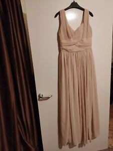 Bridesmaid Dress size 12, light pink.