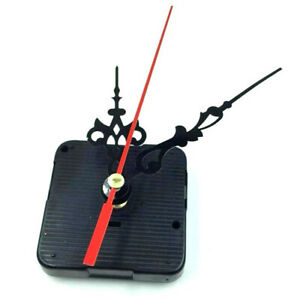 DIY 1 Set Silent Quartz Clock Movement Mechanism Kit Battery Powered Hand T C W^