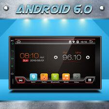 "7"" GPS Navi Android 6.0 Double 2DIN Car Auto Stereo WIFI 3G Bluetooth Radio+ CAM"
